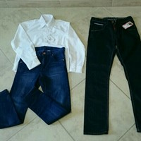 Boys Jeans & Shirt For 9years