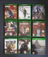 Used 9 xbox one games in Dubai, UAE