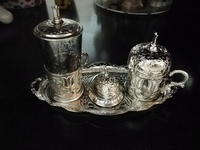 Used Elegant set of turkish tea cup in Dubai, UAE