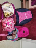 Used School bag and lunch kids food box. in Dubai, UAE