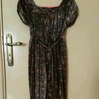 Floral Dress; Used Only Once For Fitting Only; Free Delivery