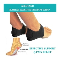 Used Plantar Fasciitis therapy black 4 pcs in Dubai, UAE