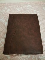 Used Leather journal with calculater and pen in Dubai, UAE