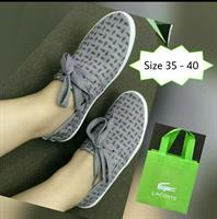 Gray Lacoste Shoes For Women