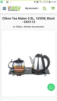 Used Tea maker Elegant style from Clikon in Dubai, UAE