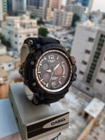 Used 》CASIO G-Shock Dual Time Watch_`✅BOX in Dubai, UAE