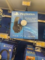 Playstation 4 Wireless Stereo Headset