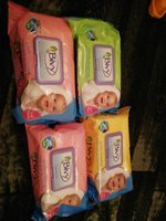 Used baby wipes 4 packs..(120 wipes per pack) in Dubai, UAE