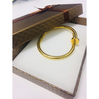 Cartier Bangle Goldplatedd