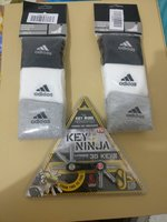 Used 6 pairs of Adidas socks + key ninja in Dubai, UAE