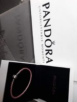 Used Unused Pandora Leather Bracelets- 3 pcs. in Dubai, UAE