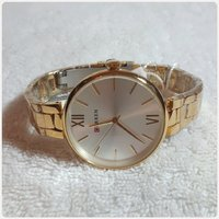 Used Brand new golden Watch for Lady... in Dubai, UAE
