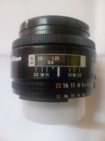 Used Nikon Nikkor 28mm 1:2.8 Wide angle prime in Dubai, UAE