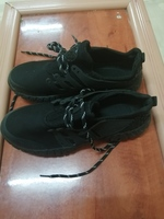 Men's sports running shoes black size 39