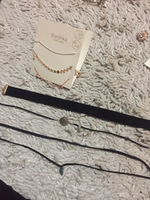 Black chokers multi