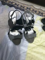 Used Vincci black n gray heel in Dubai, UAE