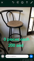 Used Bar stools  in Dubai, UAE