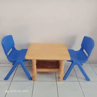 Used Kids 2 chairs and a table set 🎀 in Dubai, UAE