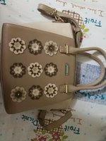 Used Beautiful new ladies bag beige color in Dubai, UAE