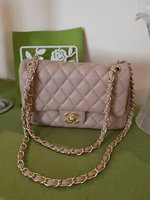 Used Chanel mini beige classic flap in Dubai, UAE