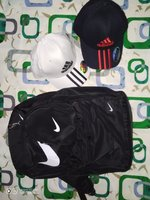 Used Adidas bagpack & Caps in Dubai, UAE