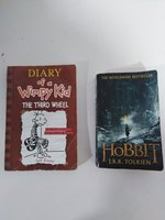 Used The hobbit and diary of a wimpy kid in Dubai, UAE