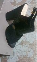 Used Nine West Size 40 Patent Suede Heel in Dubai, UAE