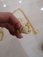Used Men's Dragon jewelry golden set in Dubai, UAE