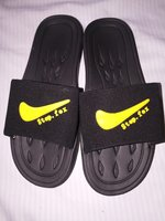 Used Nike step fox slipper in Dubai, UAE