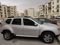 Used Silver Renault Duster with only 19.000 k in Dubai, UAE