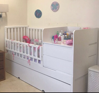 Used Baby crib with drawers in Dubai, UAE
