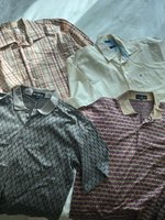 Used Bundle of Men's Shirt Size L in Dubai, UAE