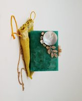 Handmade Marble Resin Clutches