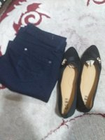 Used Jeans trouser and flat shoes in Dubai, UAE