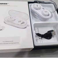Used Bose higher bass earbuds white color in Dubai, UAE