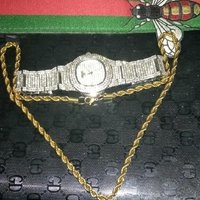 Used Watch and necklace in Dubai, UAE