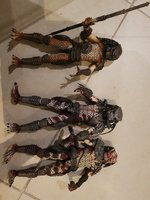 Used NECA set of 3 predators in Dubai, UAE