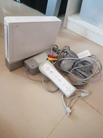 Nintendo wii game cube console