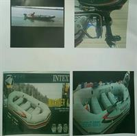 Used 4 Persons boat with patrol engine Zero five zero five nine two three one one five  in Dubai, UAE