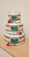 Used HANDMADE DIAPER/NAPPY CAKE #babyshower in Dubai, UAE