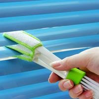 Keyboard Brush 2 in1  Air-conditioner Cleaning Brush Window Leaves Blinds Cleaner