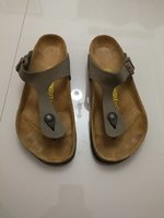 Used BIRKENSTOCK LEATHER SLIPPERS(SIZE 40) in Dubai, UAE