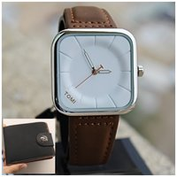 Used Original TOMI-Leather Watch^+FREE Wallet in Dubai, UAE