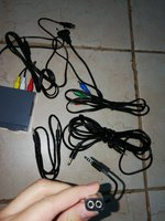 6 pcs of mixed wires, AUX, Radio freq