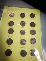 Used Pilipinas coin set in Dubai, UAE