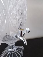 Used Bohemian Crystal juice dispenser in Dubai, UAE