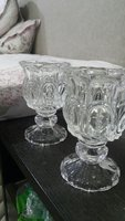 Used Hi I'm elling crystal candle holder pair in Dubai, UAE
