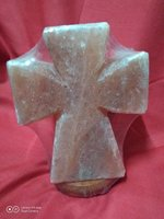 Used Himalayan salt lamp cross in Dubai, UAE