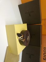Used Louis Vuitton belt design brown in Dubai, UAE