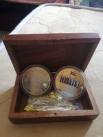 Used UAE Gold pendant Coins with Box in Dubai, UAE